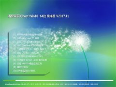番茄花园Ghost Win10 x64 快速纯净版V2017年11月(完美激活)
